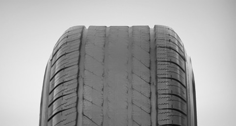 Over Inflated Tire Wear | ACDelco